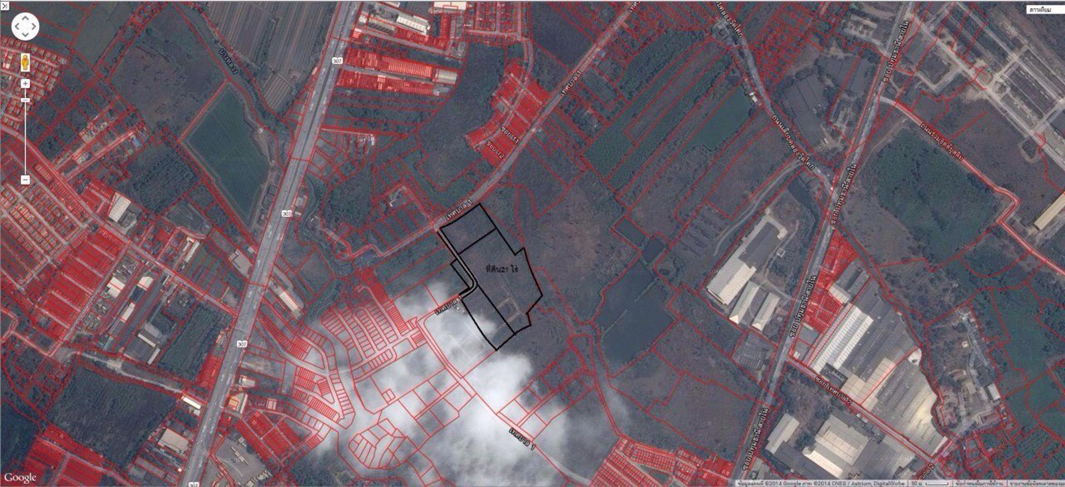 ขายที่ดินเปล่า ทำเลดีมาก เทศบาล ปทุมธานี สร้างได้ทุกอย่าง รูปที่ 6