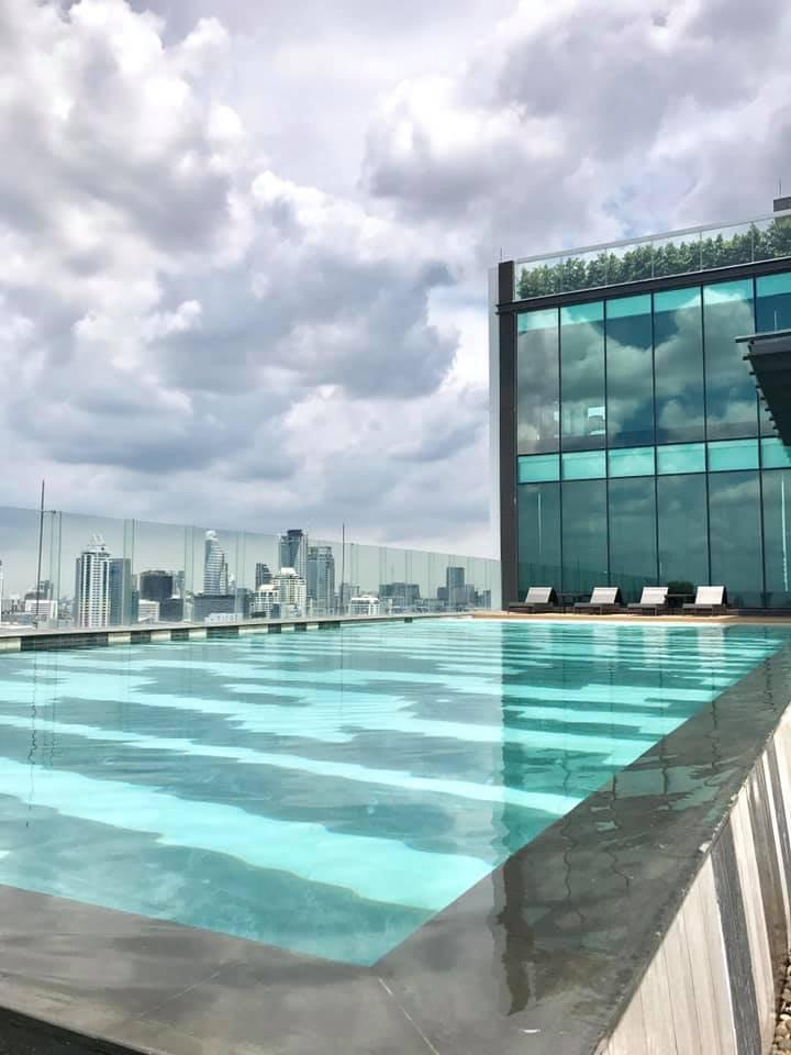 For rent or sale  Rhythm Rangnam (with east view) รูปที่ 6
