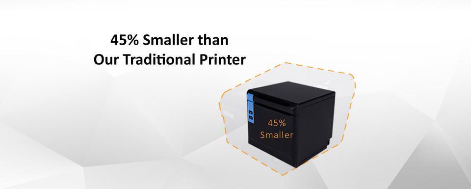 ปริ้นเตอร์ TP808 พิมพ์ใบเสร็จ เชื่อมต่อ USB+Serial+Ethernet  รูปที่ 2