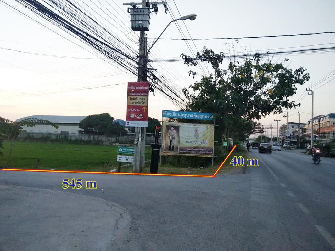 ขายที่ดินไทรน้อย 12 ไร่ เขตบางบัวทอง นนทบุรี ติดถนนบ้านกล้วย-ไทรน้อย เส้น 1013 อยู่ในเขตพื้นที่สีเหลือง เห รูปที่ 4