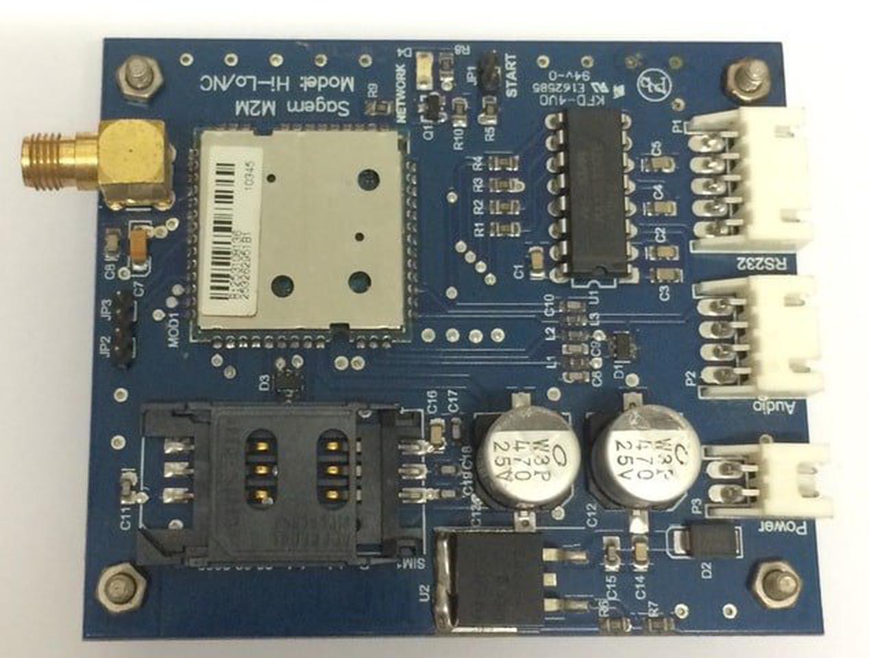 วงจร GSM Module รูปที่ 1
