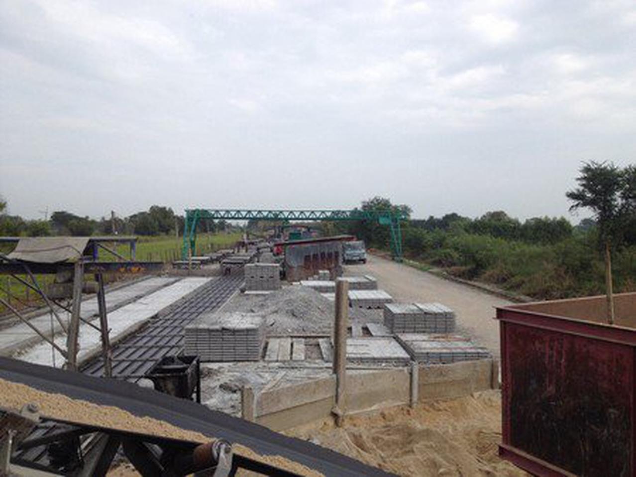ขายกิจการพร้อมโรงงานผลิตเสาเข็ม แผ่นพื้นสำเร็จอื่นๆ จ.ปทุมธานี  รูปที่ 2
