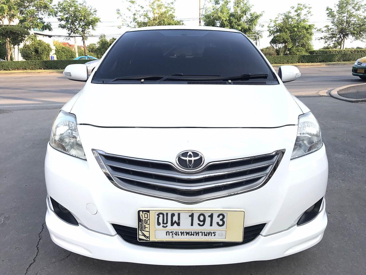 TOYOTA VIOS 1.5G Auto ปี2011 สีขาว รถบ้านมือเดียว รูปที่ 2