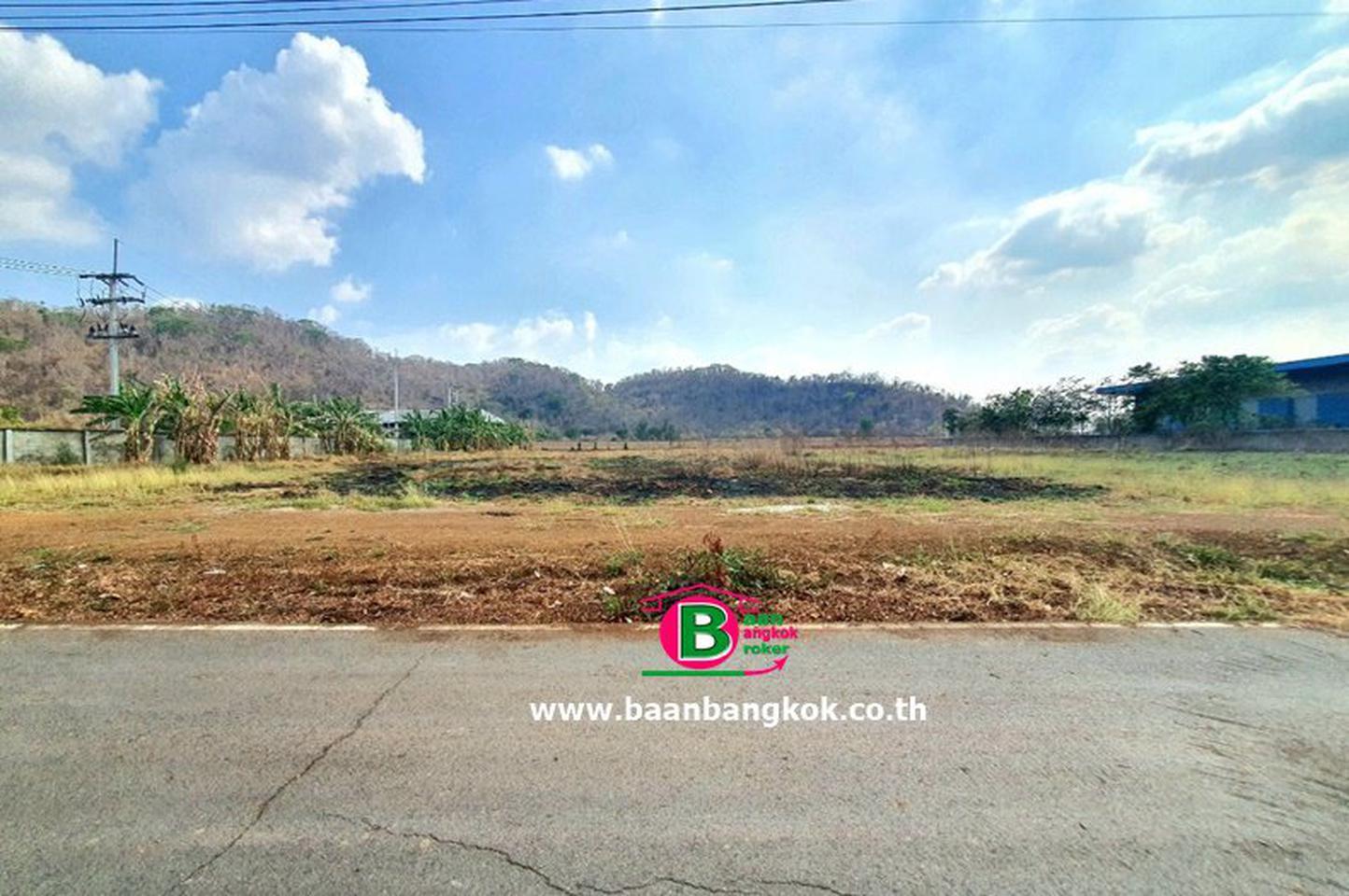 ที่ดินเปล่า 5-1-37 ไร่ แก่งคอย สระบุรี หน้ากว้างประมาณ 86 M x 100 M เป็นพื้นที่สีเขียว ทำโรงงานที่เกี่ยวข้องกับการเกษตร รูปที่ 6