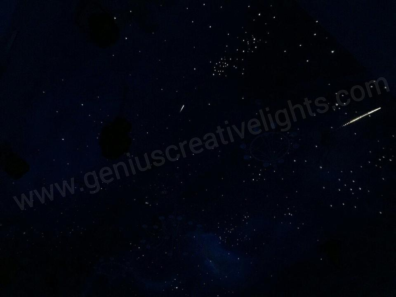 Fiber optic stars ceiling(ดาวบนฝ้าเพดาน) รูปที่ 4