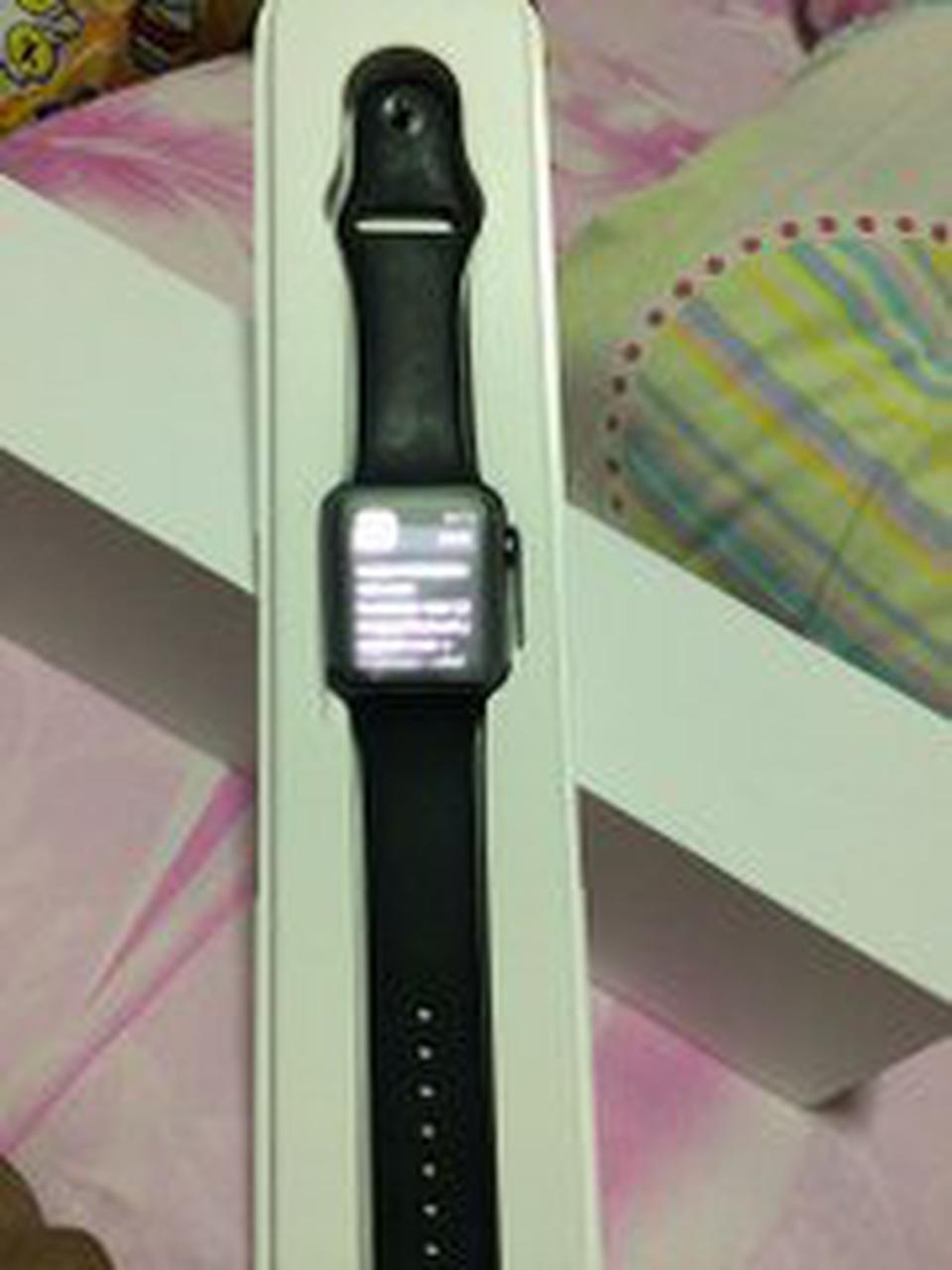 Apple watch gen1 42mm sport อลูมิเนียม สีดำ รูปที่ 2