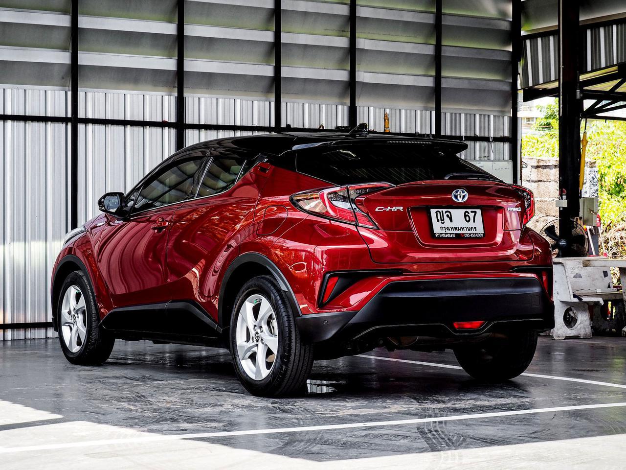 Toyota CHR HV Hi รุ่น Top สุด ปี 2019 เลขไมล์ 60,000 กิโล รูปที่ 4