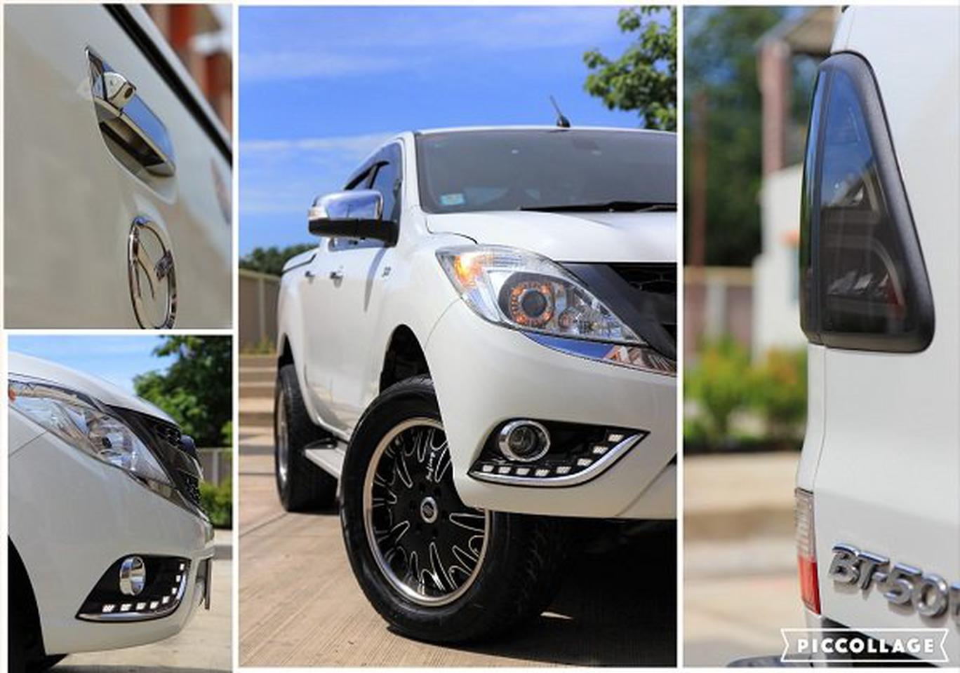 ขายรถปิคอัพ 4 ประตูยกสูง Mazda  BT50 Pro เขตปทุมวัน กทม รูปที่ 1