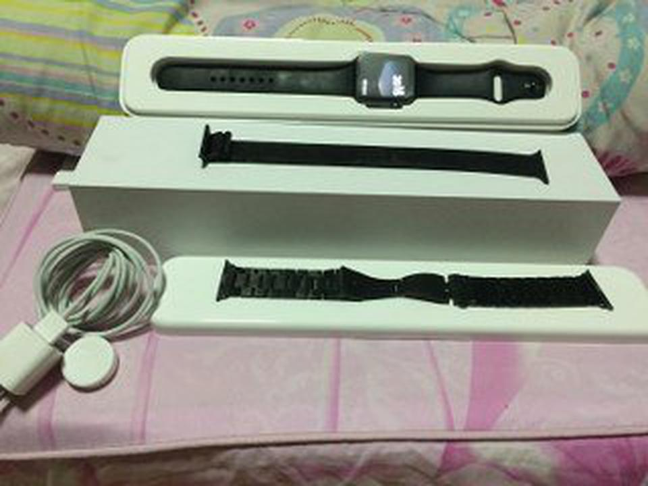 Apple watch gen1 42mm sport อลูมิเนียม สีดำ รูปที่ 1