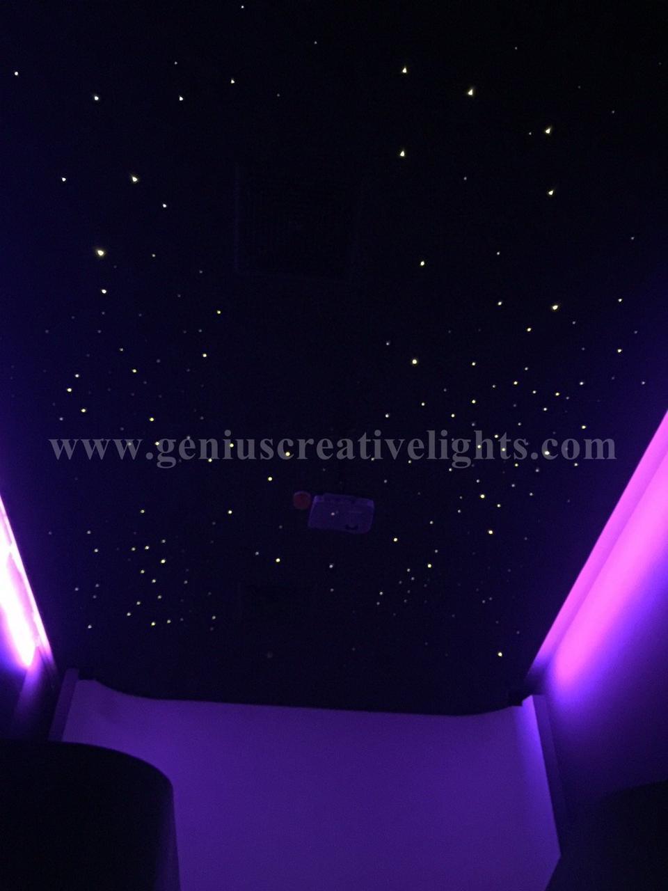 Fiber optic stars ceiling(ดาวบนฝ้าเพดาน) รูปที่ 5