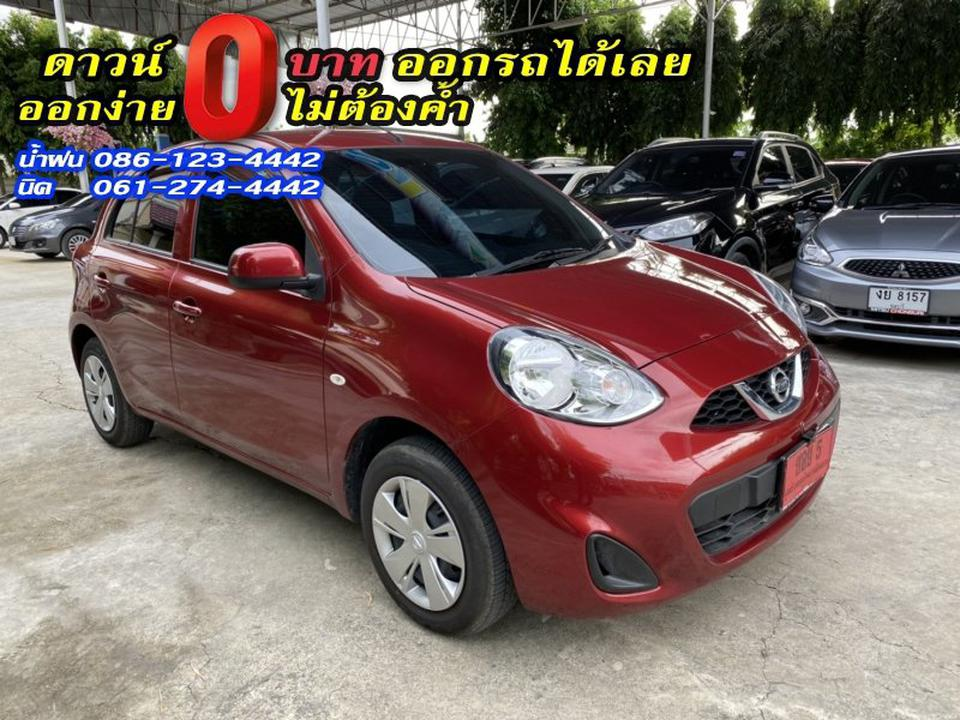 NISSAN MARCH 1.2E 2019 รูปที่ 4