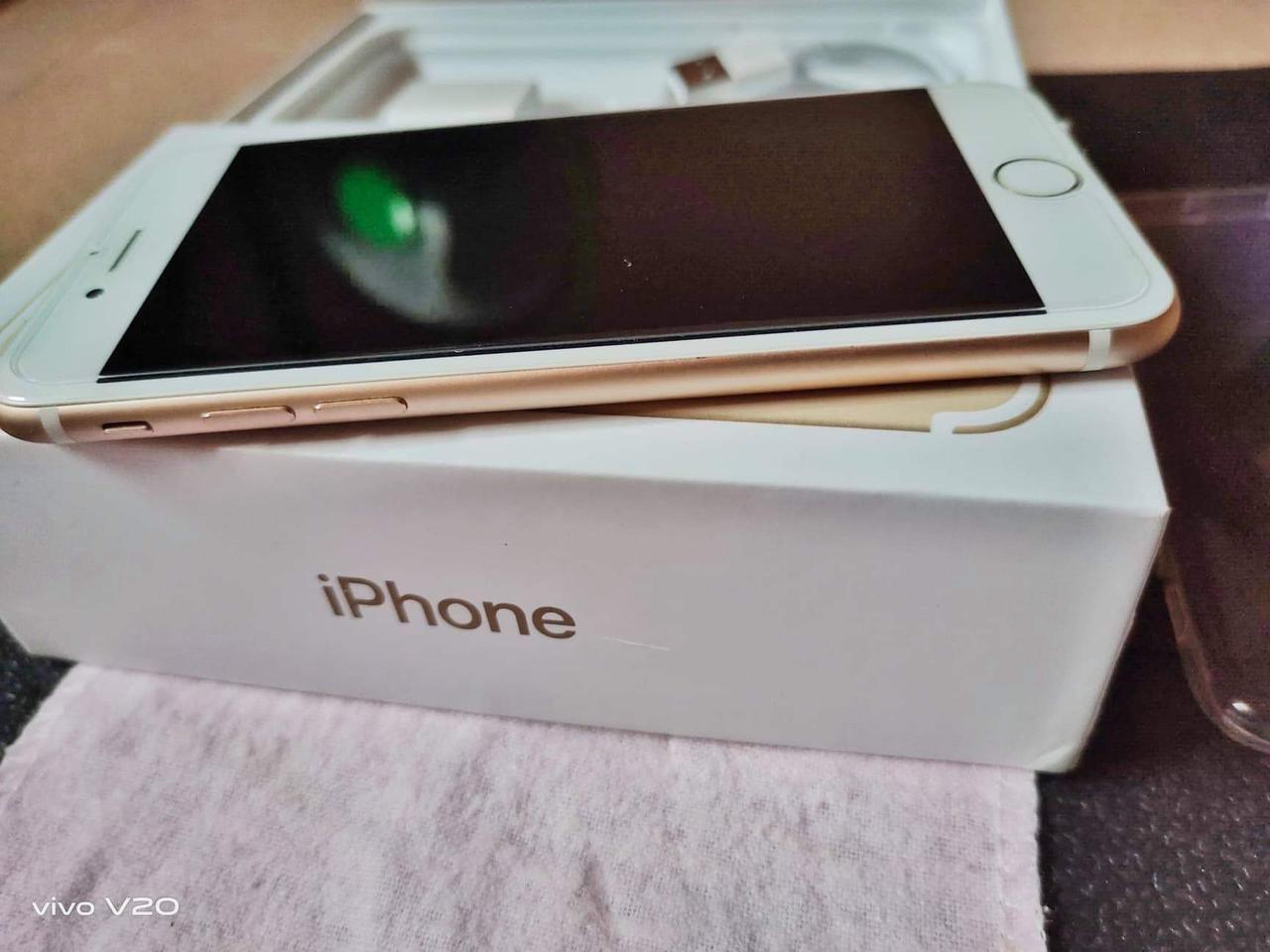 iPhone7 มือสอง 128G สีทอง รูปที่ 4