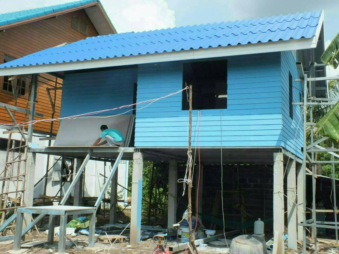 รับสร้างบ้านน๊อคดาวน์ รูปที่ 4