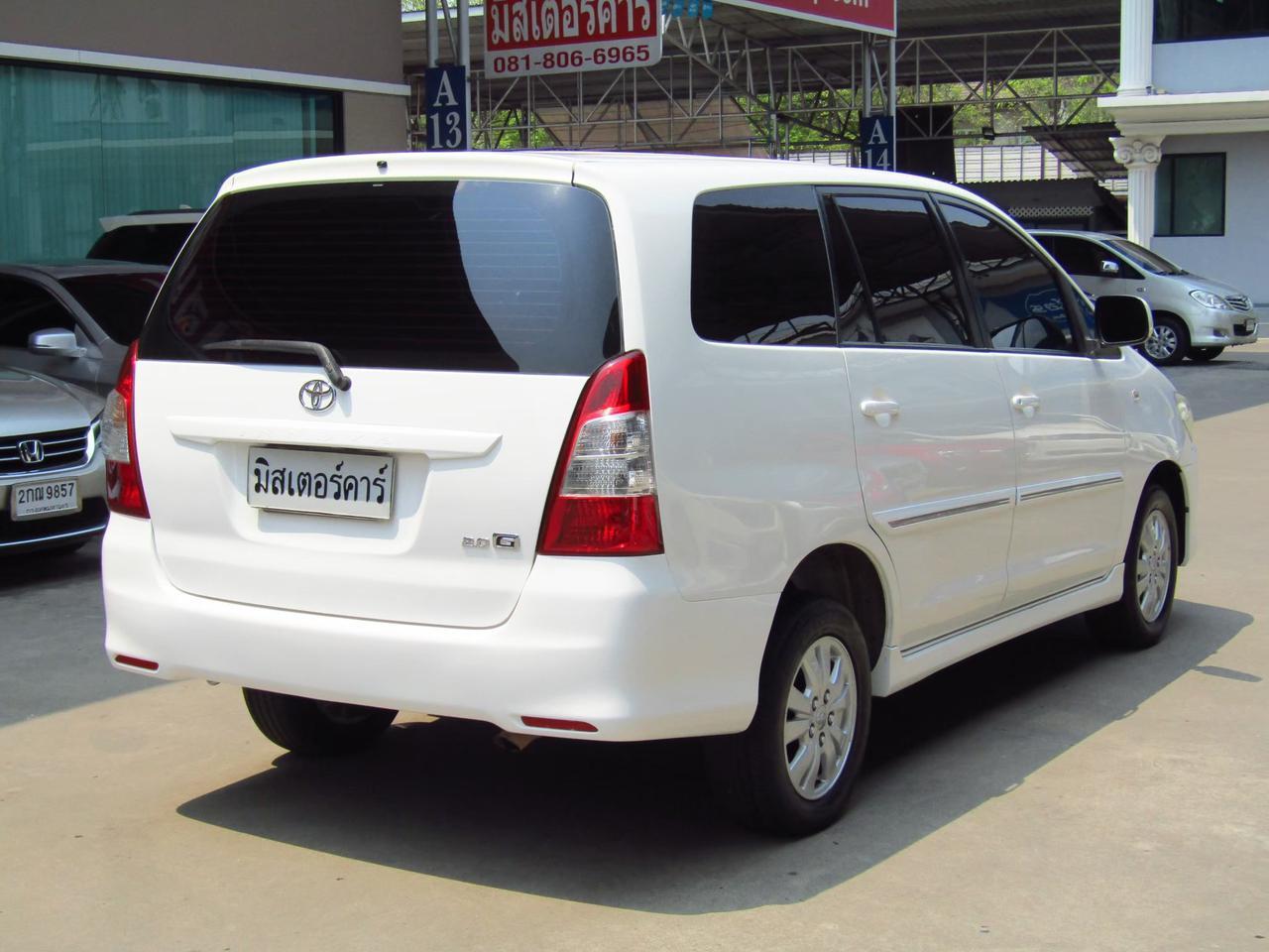 2012 Toyota Innova 2.0 (ปี 11-15) G Wagon รูปที่ 2
