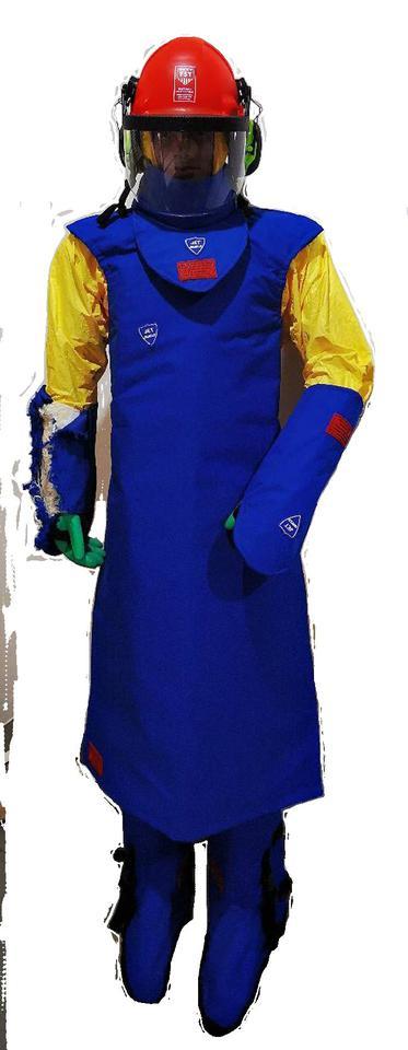 ชุดเกราะป้องกันน้ำแรงดันสูง  รูปที่ 5