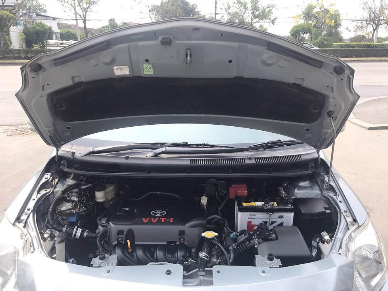 TOYOTA VIOS 1.5 J Auto ปี2011 ติดแก็สLPGหัวฉีดถังโดนัทสองระบบประหยัด รูปที่ 6