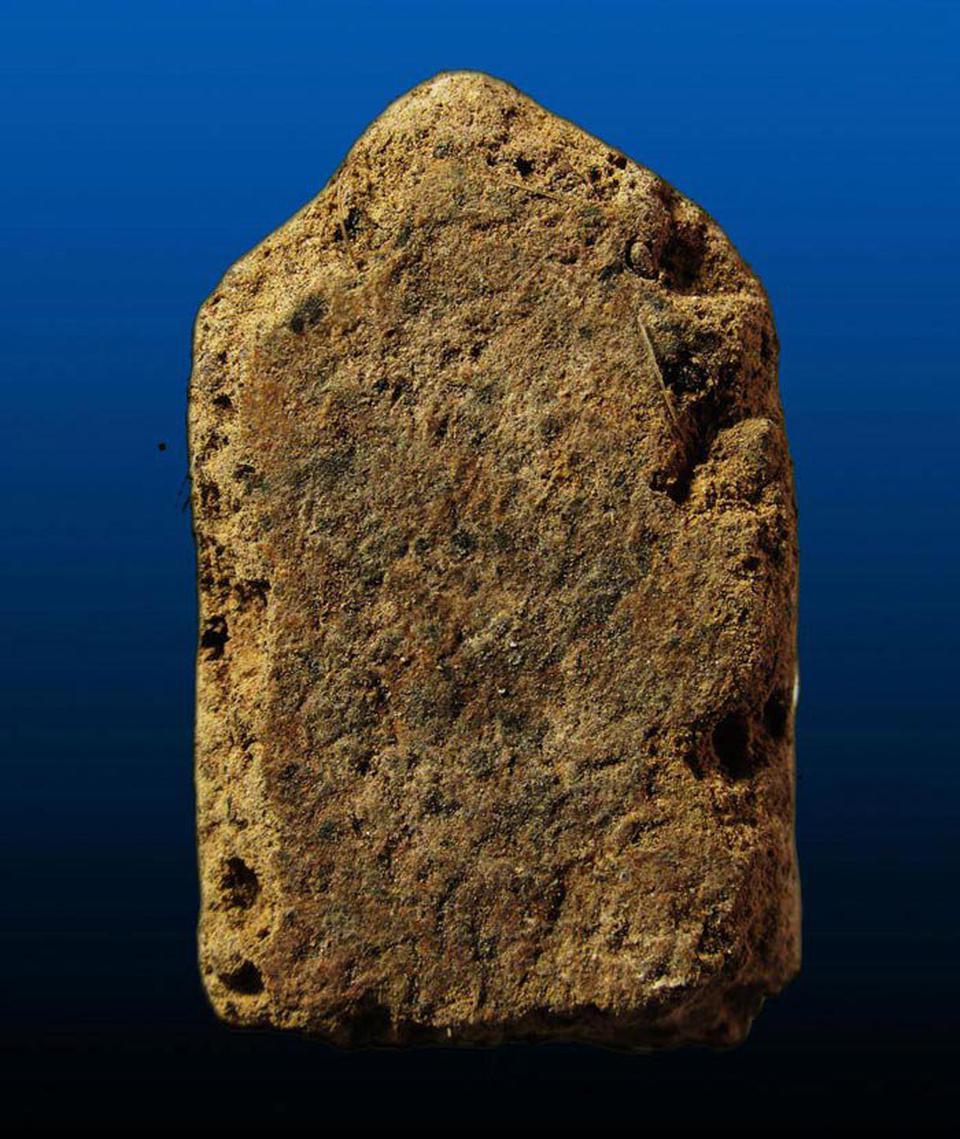 พระสิวลีผงพรายกุมาร  เนื้อยานัตถ์ หลวงปู่ทิม วัดละหารไร่ ปี2515 รูปที่ 2