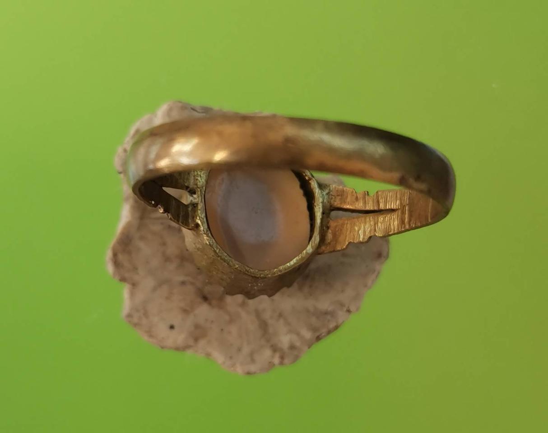 5885 แหวน เข้าตัวเลือนทองเหลือง เส้นผ่าศูนย์กลาง 1.8 เซ็นติเมตร รูปที่ 3