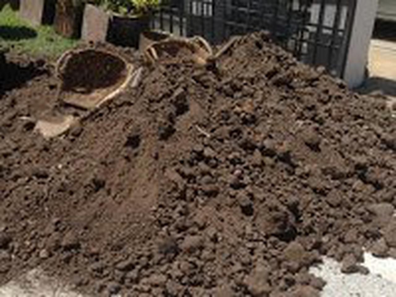 ขายหน้าดิน ถมที่ ถมดิน เสริมหน้าดิน สำหรับจัดสวน ปลูกหญ้า ปลูกต้นไม้ เกรดA ราคาถูก รูปที่ 2