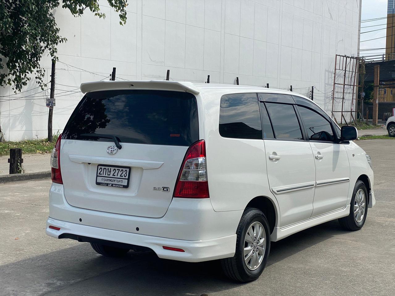 "Toyota Innova 2.0G ออฟชั่น ทีวี จอกลาง กล้องถอยหลังและเซ็นเซอร์ มาให้พร้อมใช้งานเลยครับ"" การเชื่อมต่อ Bluetooth  รูปที่ 4"