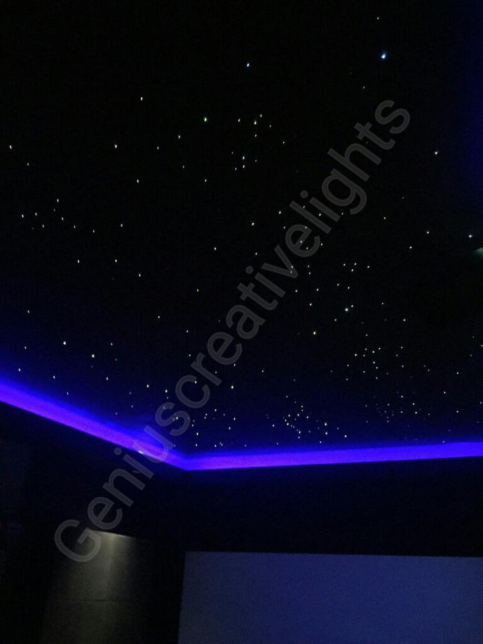 Fiber optic stars ceiling(ดาวบนฝ้าเพดาน) รูปที่ 1