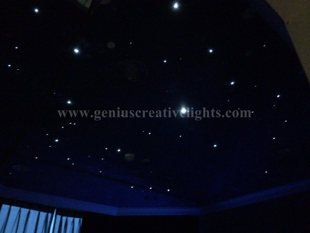 LED Fiber optic stars ceiling ในห้องนอน รูปที่ 2