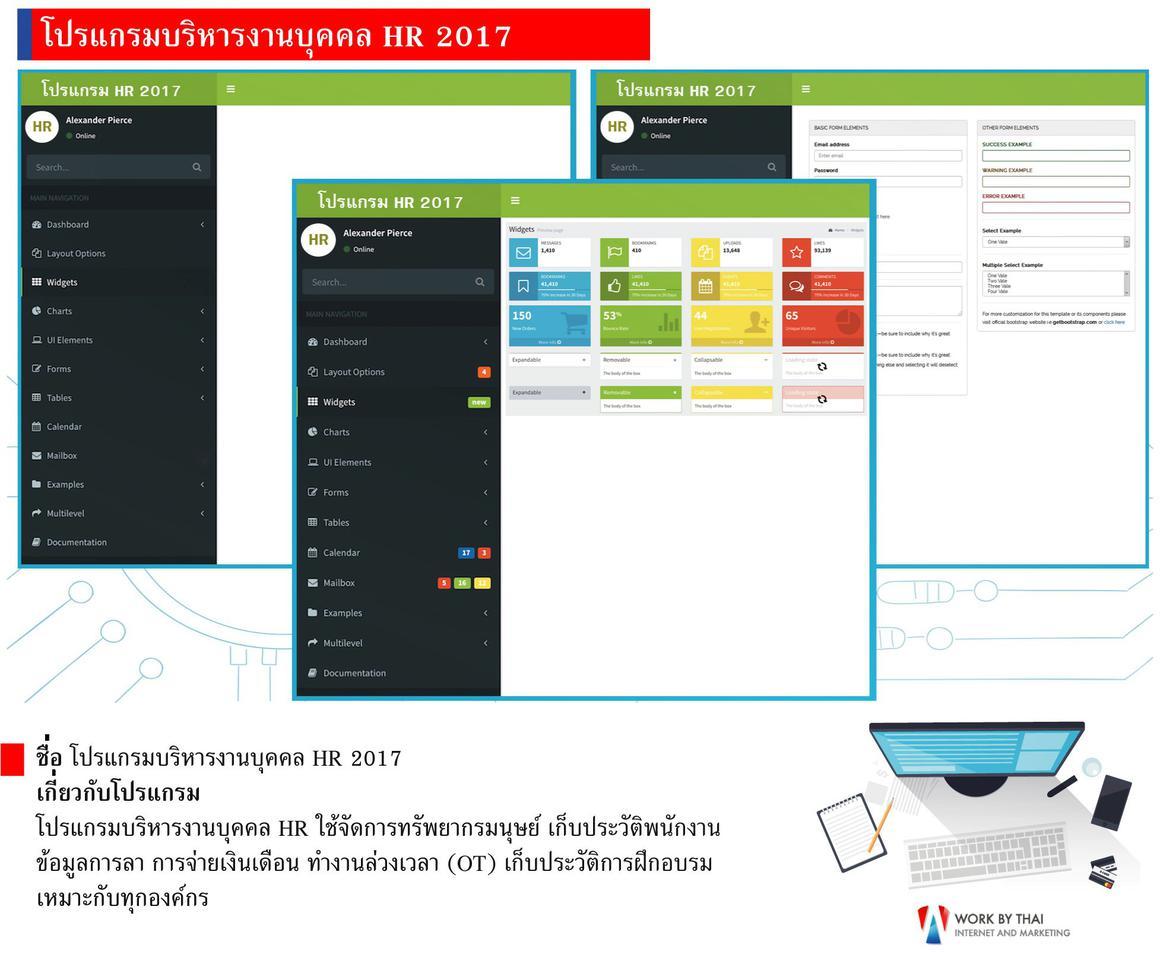 รับเขียนโปรแกรม รับทำเว็บไซต์รับออกแบบเว็บไซต์ รูปที่ 4