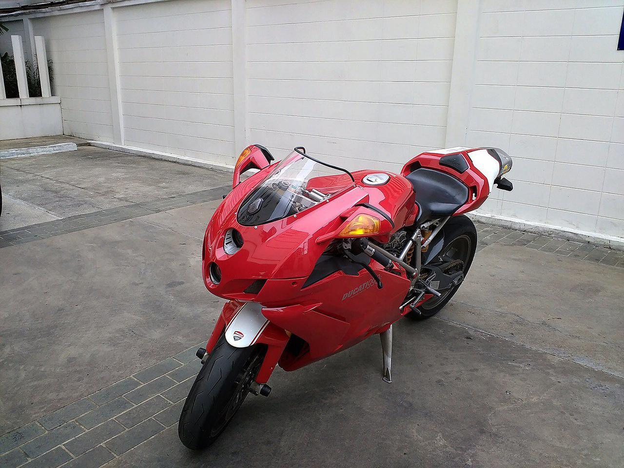 ขายรถมอเตอร์ไซต์  ducati  999s 2005 เขตสาทร กทม. รูปที่ 4