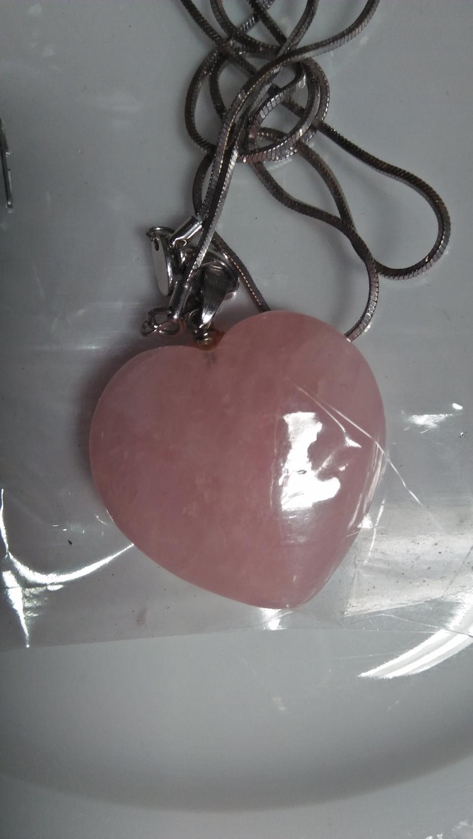ขายหินรูปหัวใจเนื้อสีชมพู เรียกพลังความรัก รูปที่ 2
