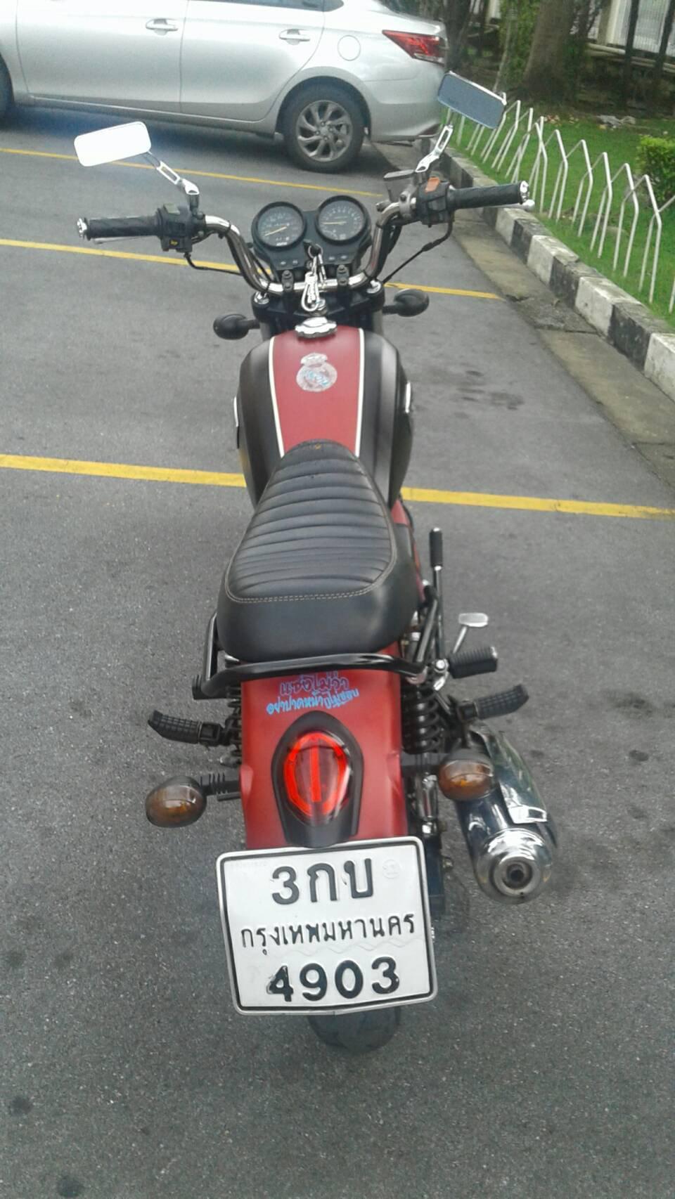 ขายรถจักรยานยนต์ GPX country 125 เขต ปทุมวัน กทม. รูปที่ 4