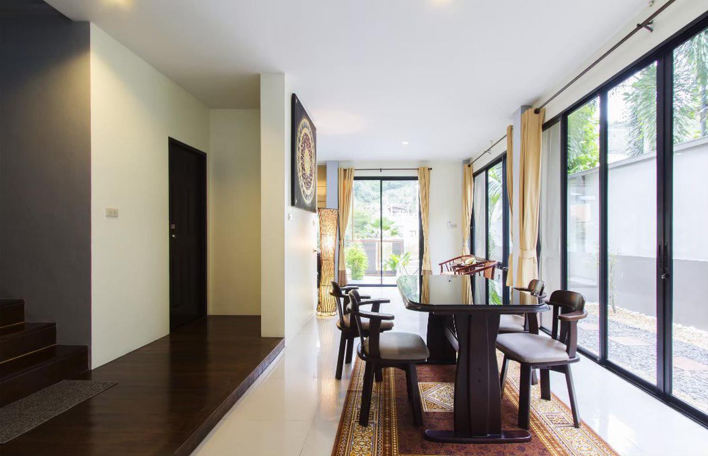 บ้านสวนเนรมิต 5 ป่าคลอก (บ้านใหม่)  ค่าเช่า 20,000 (ราคานี้ลดได้) ทำเลสวย สาธารณูปโภคครบครัน  รูปที่ 1