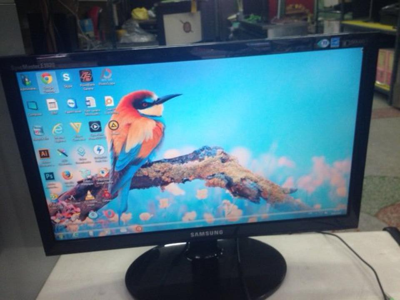 จอ SAMSUNG LCD 19 นิ้ว รูปที่ 1