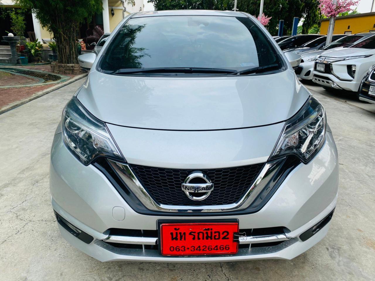 🌈ปี2020 Nissan Note 1.2  VLรุ่นTOP   🌈ไมล์แท้💯%  23,xxx กม. รูปที่ 2
