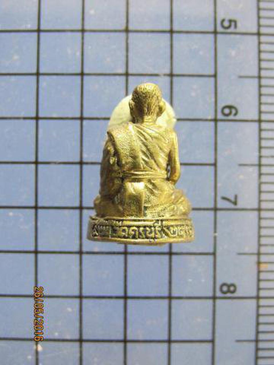 3418 พระรูปหล่อเล็กอุดกริ่งหลวงปู่นิล วัดครบุรี ปี 2536 ที่ร รูปที่ 3