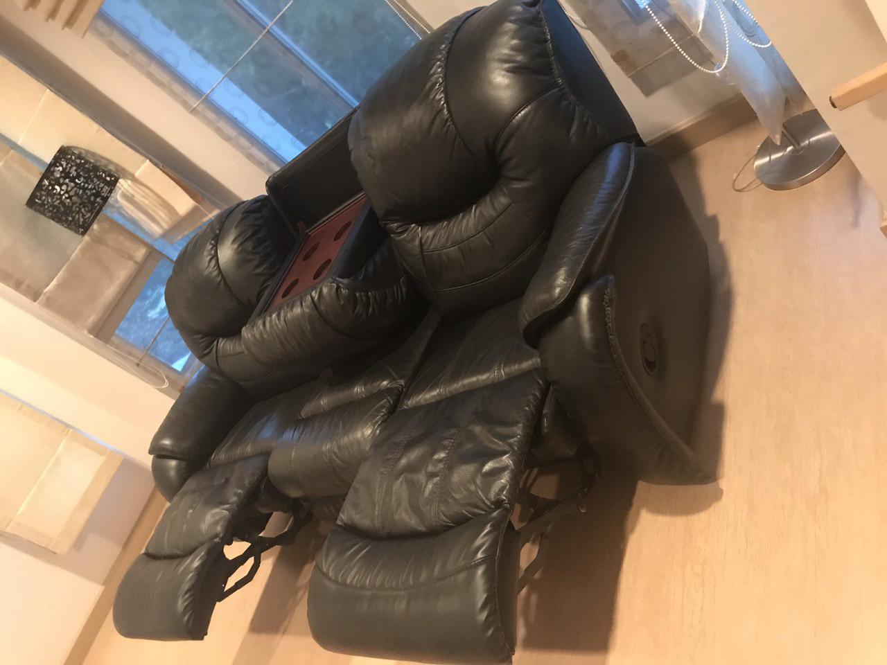 เก้าอี้โฮมเทียเตอร์หนังแท้ รูปที่ 2