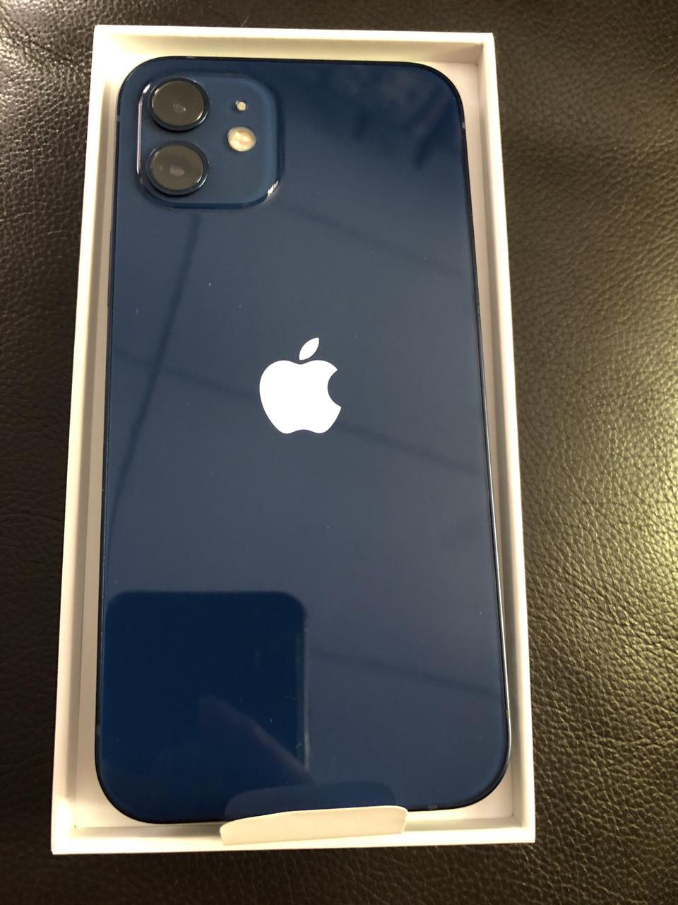 Iphone 12 256 gb สีน้ำเงิน แท้ ของใหม่  รูปที่ 4