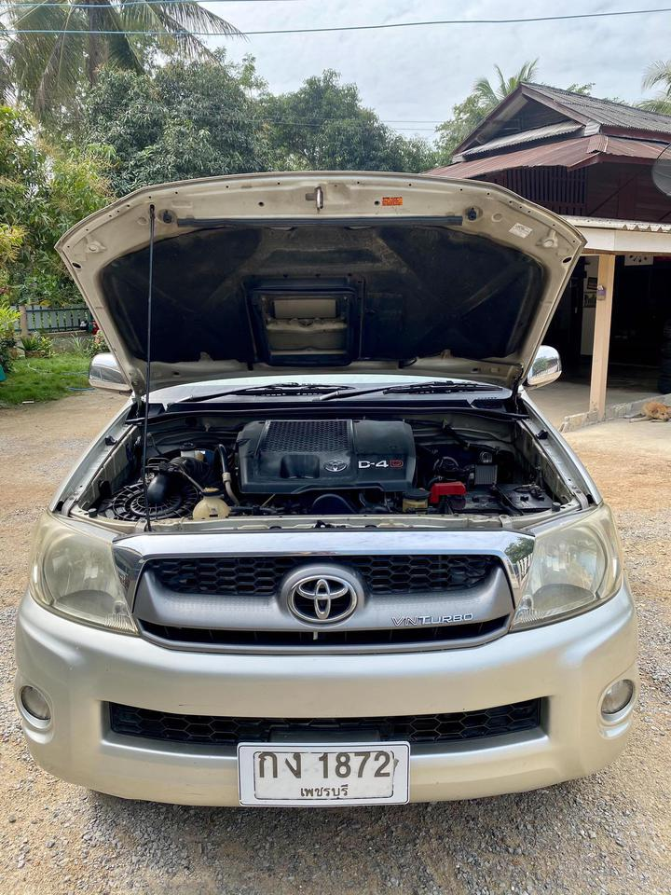 Toyota vigo พรีรันเนอร์ 2.5E 4ประตู Toyota vigo พรีรันเนอร์ 2.5E 4ประตู  รูปที่ 1