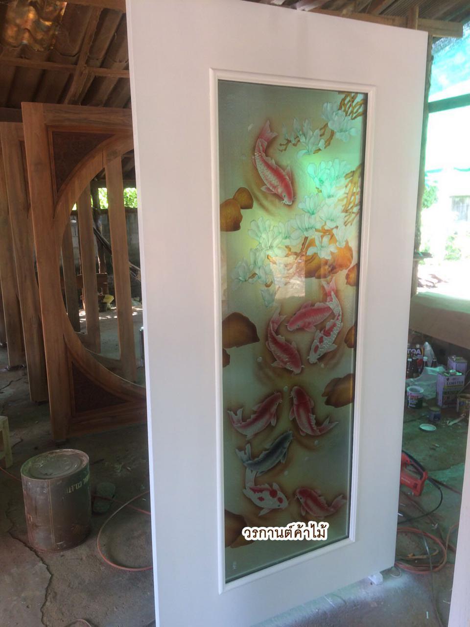 door-woodhome ร้านวรกานต์ค้าไม้ จำหน่ายประตูไม้สัก ,ประตูไม้สักกระจกนิรภัย,ประตูหน้าต่าง รูปที่ 3