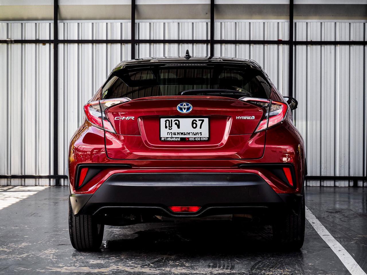 Toyota CHR HV Hi รุ่น Top สุด ปี 2019 เลขไมล์ 60,000 กิโล รูปที่ 5
