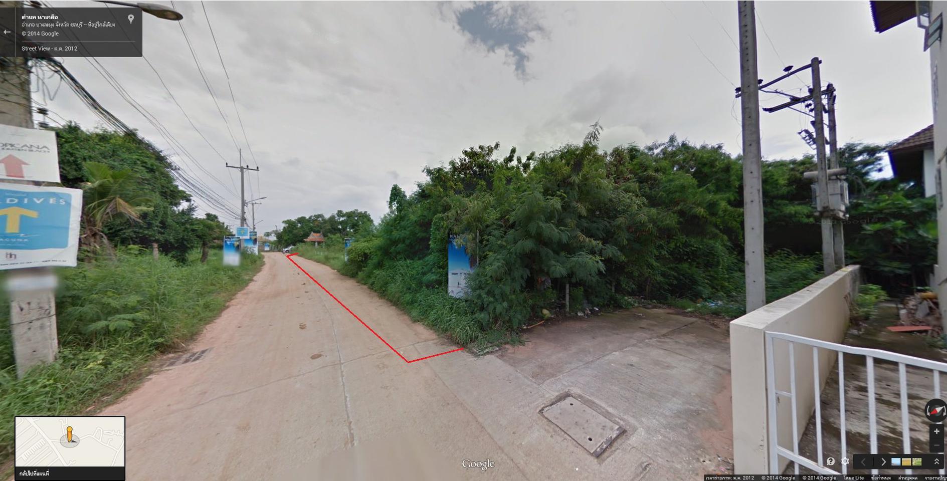 ขายที่ดิน 5 ไร่ 55 ตารางวา หน้ากว้าง 73 เมตร ลึก 121 เมตร ใก้ลหาดพัทยา เหมาะสร้างโรงแรมและดอนโด รูปที่ 2