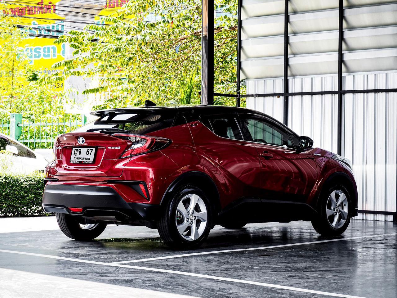 Toyota CHR HV Hi รุ่น Top สุด ปี 2019 เลขไมล์ 60,000 กิโล รูปที่ 6