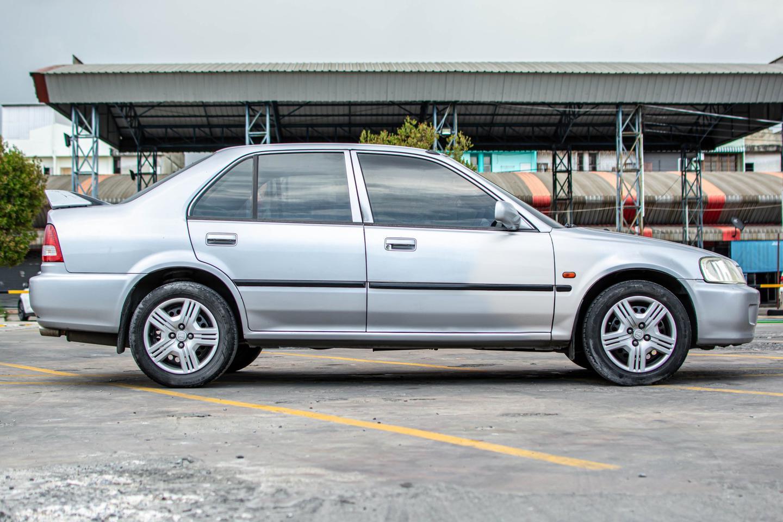 รถบ้าน ปี 2001 Honda City 1.5EXI เบนซิน สีเทา รูปที่ 2