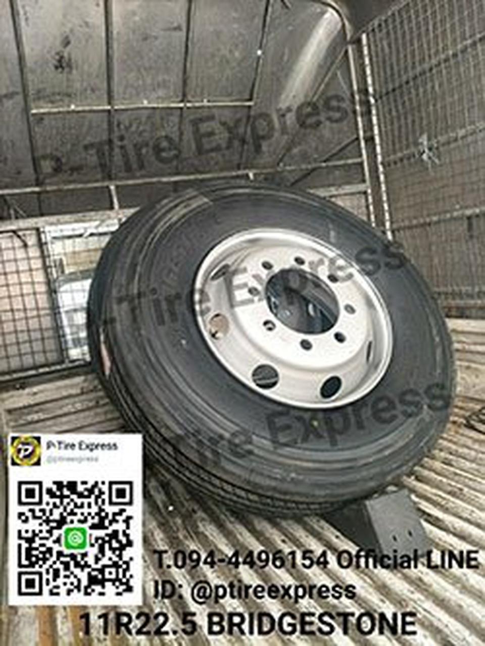 จำหน่ายยางรถ 11R22.5 ยางรถบรรทุก รถบัส รถทัวร์ สามารถติดต่อส รูปที่ 1