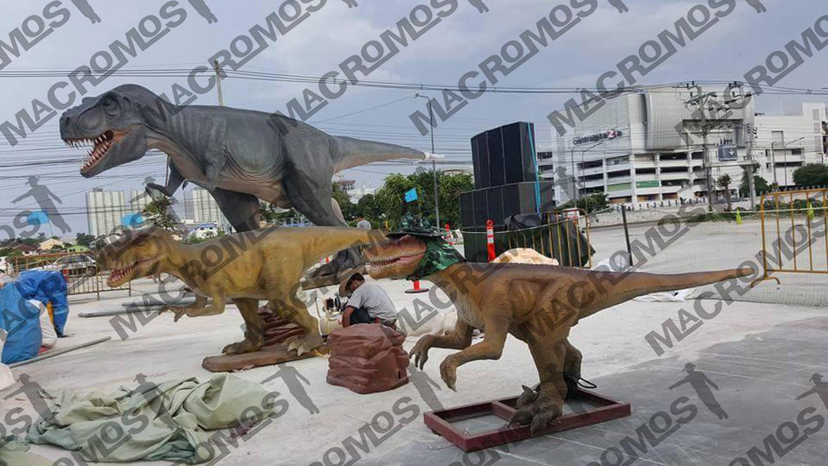 ขาย จำหน่าย ให้เช่า ไดโนเสาร์ Dinosaur T-rex,rapter,dino gate,baby dino รูปที่ 1