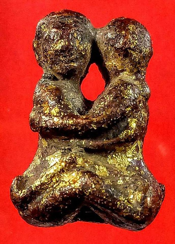 อิ๋นคู่ ล้านนา เนื้อโลหะลงรักปิดทอง รูปที่ 5