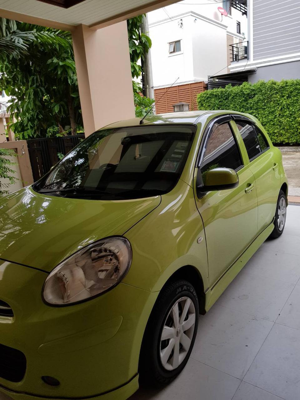 ขายรถเก๋ง Nissan March  2011 เขต ยานนาวา จังหวัด กทม. รูปที่ 3