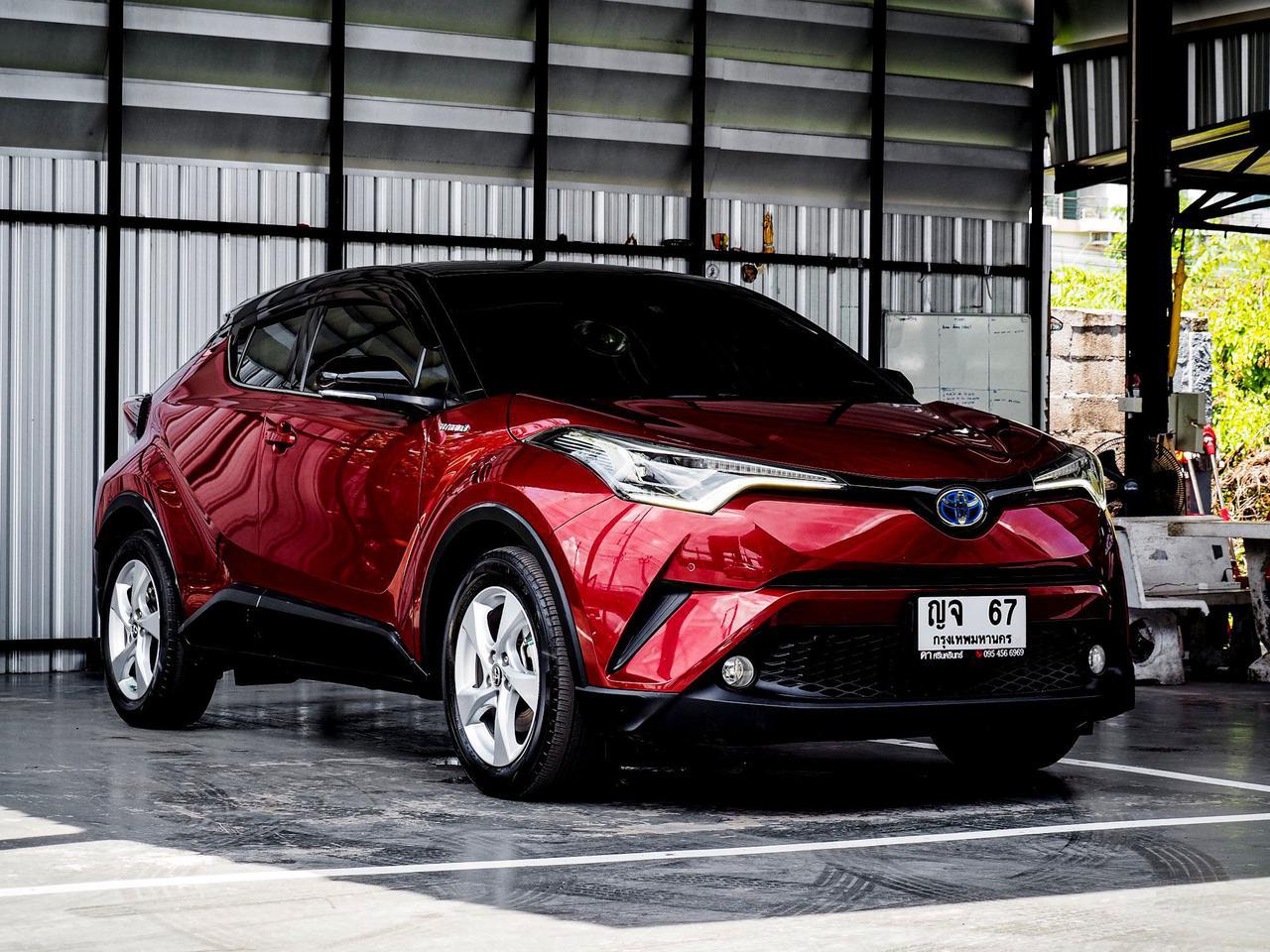 Toyota CHR HV Hi รุ่น Top สุด ปี 2019 เลขไมล์ 60,000 กิโล รูปที่ 1