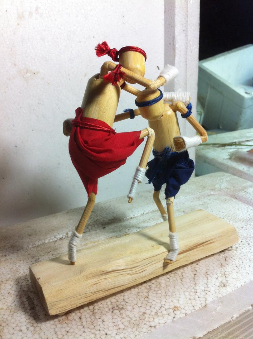 ตุ๊กตาไม้มวยไทย รูปที่ 3