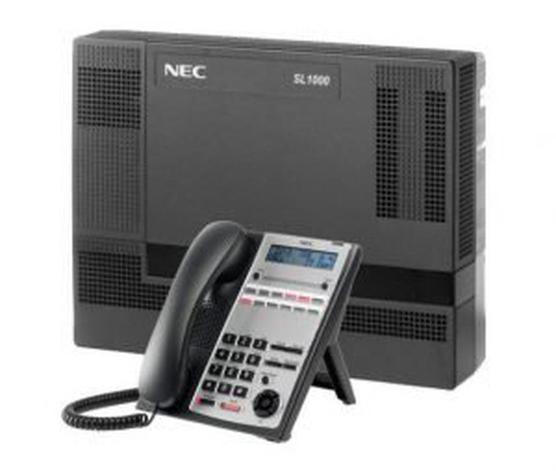 ตู้สาขาโทรศัพท์ NEC SL1000 4 สายนอก 8 สายใน รูปที่ 1