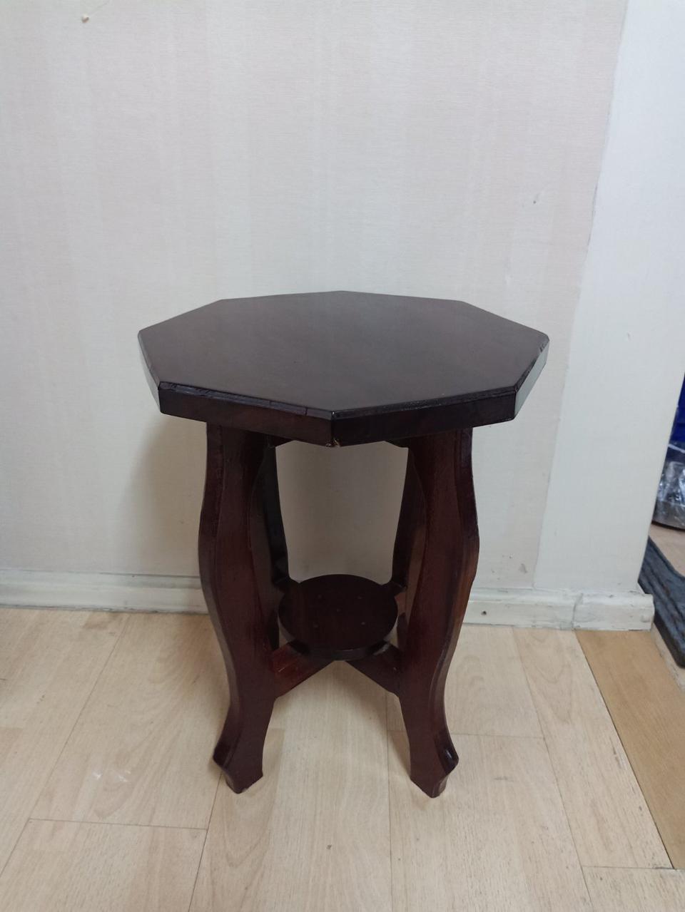 ชั้นวางของ+เก้าอี้ไม้ มือ2 รูปที่ 3